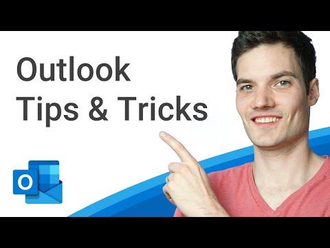 Top 20 Microsoft Outlook Tips & Tricks
