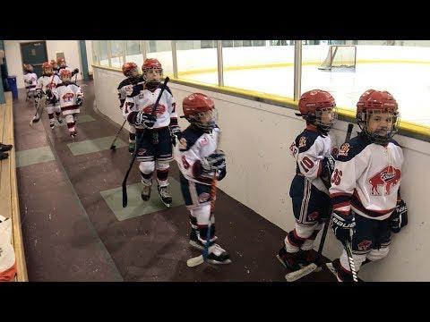 Kids HocKey Triple A Game Buffalo Regals vs Halton Hurricanes