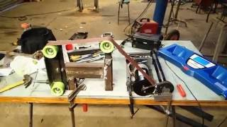 2x72 Belt Grinder Build Part 2 Of 3