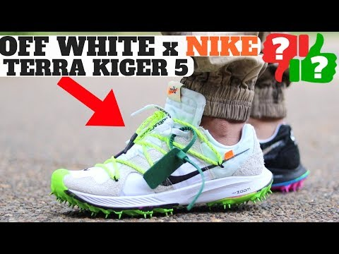 WORTHY BUYING? OFF WHITE NIKE ZOOM TERRA KIGER 5 COLLECTION ON FEET REVIEW!