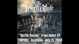 "The Word Alive - ""Battle Royale"""