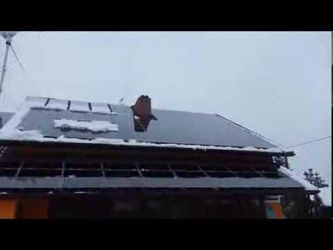 """Produkcja """"Słoneczny Dach""""  Panele fotovoltaiczne 9kw Eko Motel Na Wierzynka 04.04.2013"""