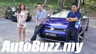 VW Golf R Mk7 review (vs A45 AMG) - AutoBuzz.my