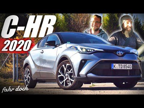 Nie wieder LANGWEILIG? Toyota C-HR 2.0 VVT-i Hybrid 2020 | Review und Fahrbericht | Fahr doch
