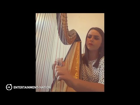 Emily Ria Harpist - Wake Me Up