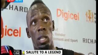 Score Line: Usain Bolt bids Jamaica farewell after last race on home soil