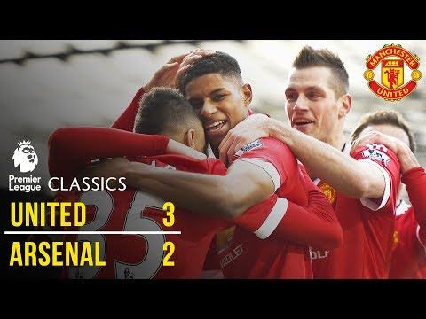 Manchester United 3-2 Arsenal (15/16) | Premier League Classics | Manchester United