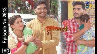 Manasu Mamata | 5th June 2019 | Full Episode No 2613 | ETV Telugu