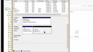 Using Microsoft's diskpart