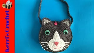 Crochet Cat Bag Tutorial