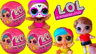 РЕДКИЙ МАЛЬЧИК И ДЕВОЧКИ ЛОЛ! New LOL Surprise Baby Dolls /Series 4 Wave 2 Eye Spy Игрушки