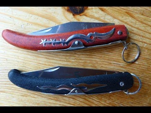 Okapi 907 ESS vs. Cold Steel Kudu - Okapi, ein Messer mit Geschichte