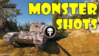 World of Tanks - Funny Moments | MONSTER SHOTS! (WoT Ammo Rack, June 2018)