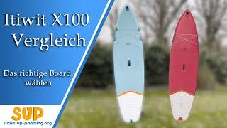 DECATHLON ITIWIT X100 10' oder 11': Welches Board ist das Richtige?   SUP Board Vergleich