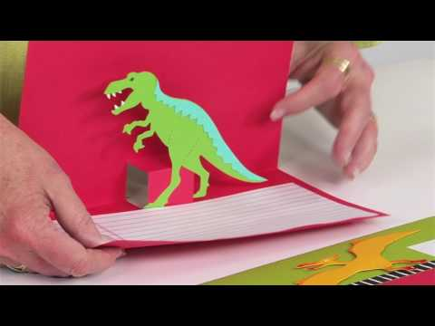 Prehistoric fun dinosaur pop-up report | Ellison Education Lesson Plan #12138