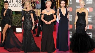 Celebrity Black Dresses For Women,Celebs Inspired Black Formal Dresses - Xdressy