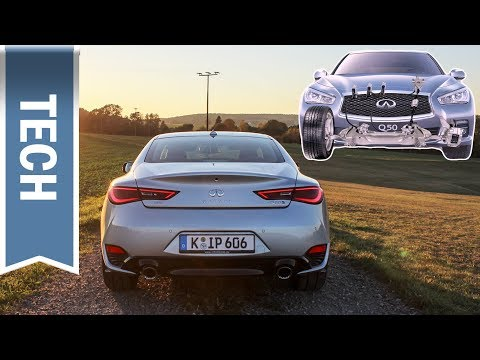 Steer-by-Wire im Infiniti Q50/Q60, Assistenzsysteme & Safety Shield im Test (Q60 3.0t; 405 PS)