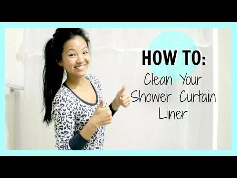 Πως να καθαρίσετε τις κουρτίνες μπάνιου
