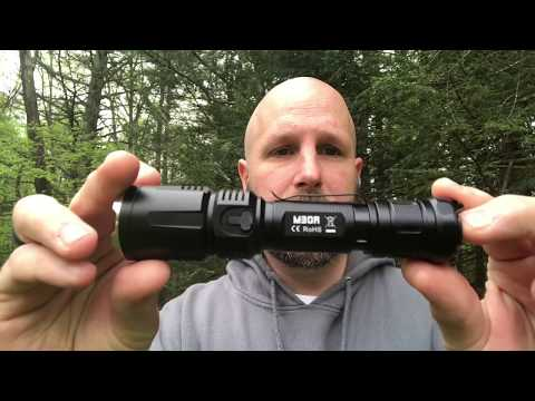 Fitorch M30R Flashlight Review: 1800 Lumens & Charges Your Phone