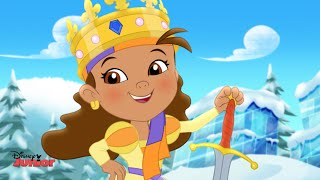 Jake and the Never Land Pirates | Queen Izzy-Bella Song | Disney Junior UK