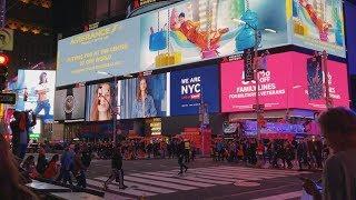 Центр Нью-Йорка - Таймс Сквер