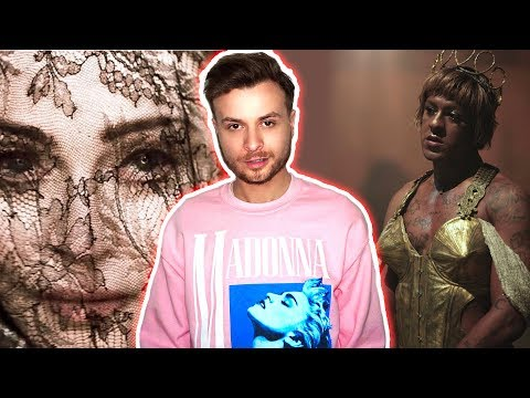 Madonna - Dark Ballet (Audio + MV) [REACTION]