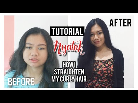 Video Tutorial Nyatok/Catok Rambut Ngembang |  Stefhanie
