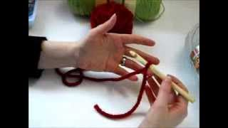 How to Hold Crochet Hook