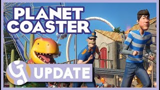🏁 GO KARTS! Swinging Coasters, Boomerang Coasters! | Planet Coaster PAX East | April Update 1.2