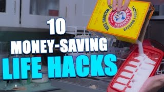 10 Money-Saving LIFE HACKS To Try At Home