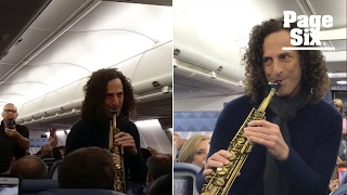 Kenny G gave this Delta flight a smooth ride   Page Six