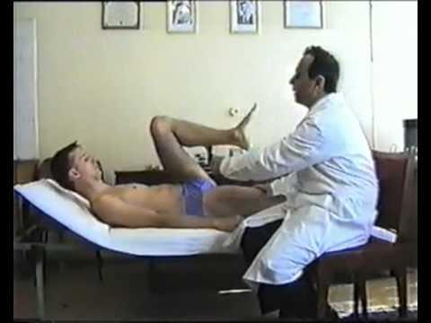 3. Исследование объема движений суставов
