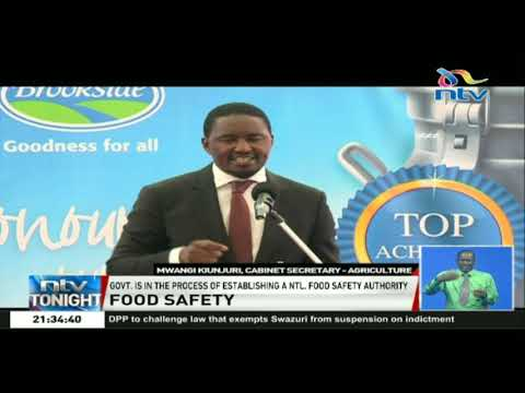Government in the process of establishing a national food safety authority