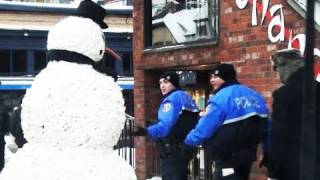 Hidden Camera The Scary Snowman 1