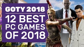 12 Best PC Games You Had To Play In 2018