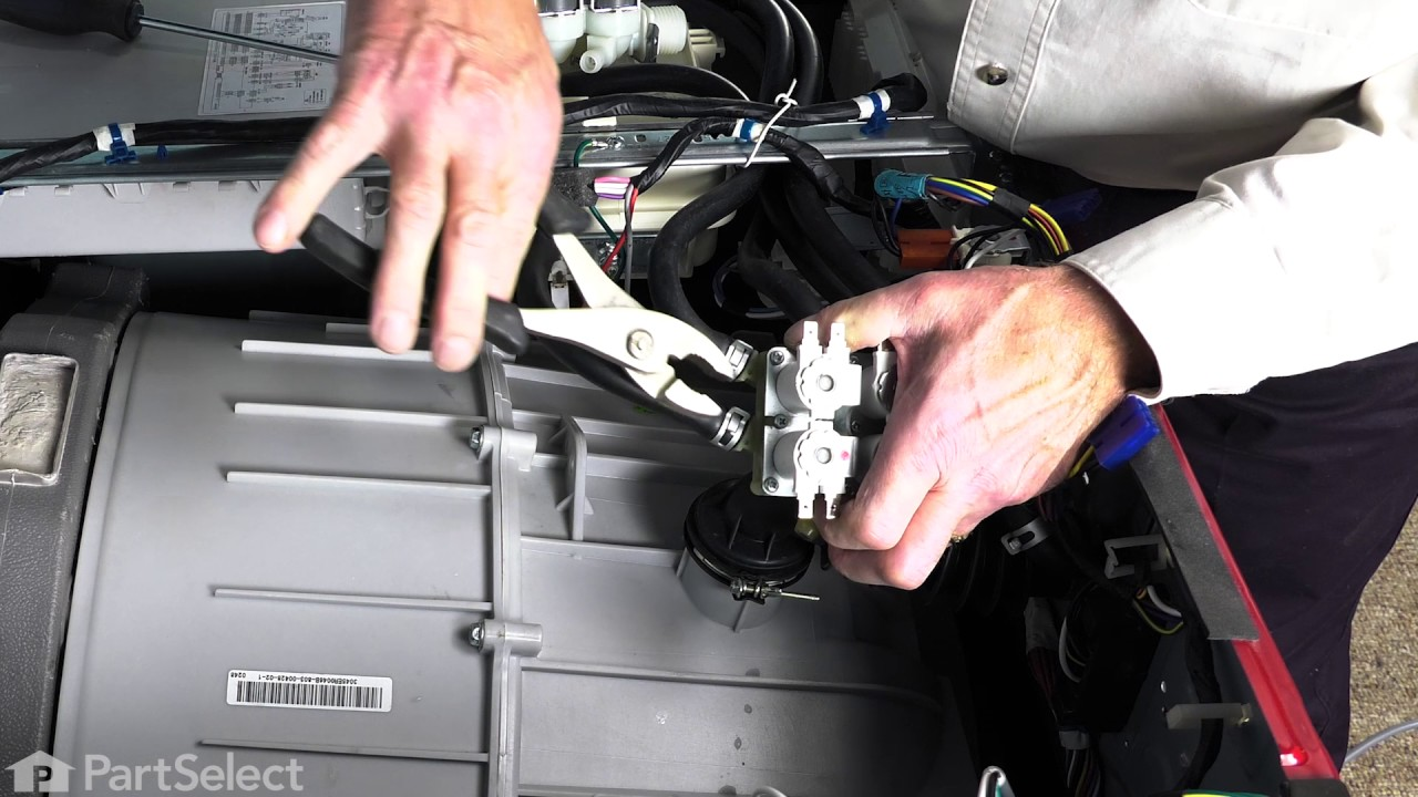 Replacing your LG Washer Inlet Valve Assembly