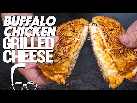 THE BUFFALO CHICKEN GRILLED CHEESE RECIPE FROM DISNEY WORLD