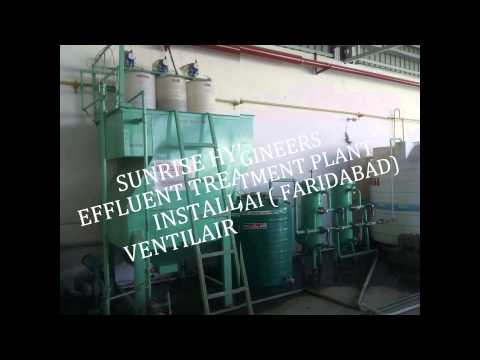Chemical Industry Effluent Water Treatment Plant