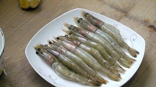 【小胖在西北】虾肉这样吃才叫爽,媳妇一大早出门买虾,简单一做,3斤不够吃