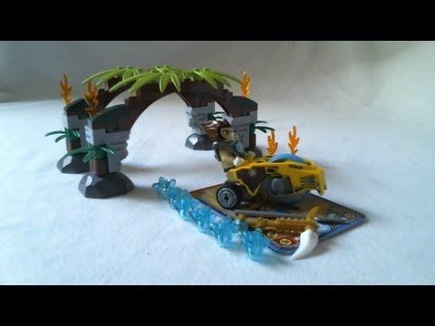 Vidéo LEGO Chima 70104 : Les portes de la Jungle