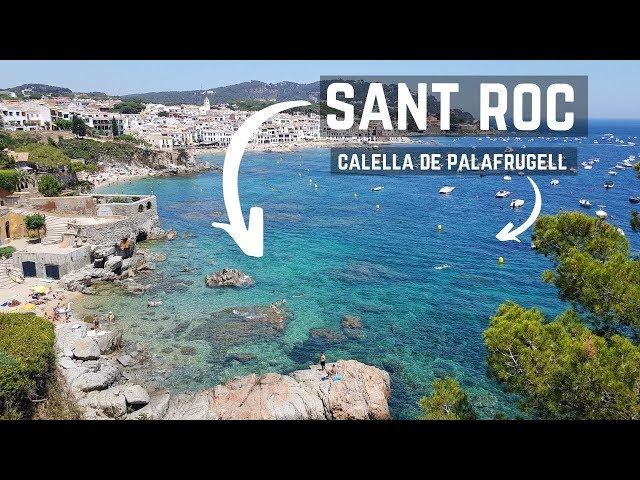 Cala de Sant Roc / Playa Els Canyers, Calella de Palafrugell, Costa Brava, España