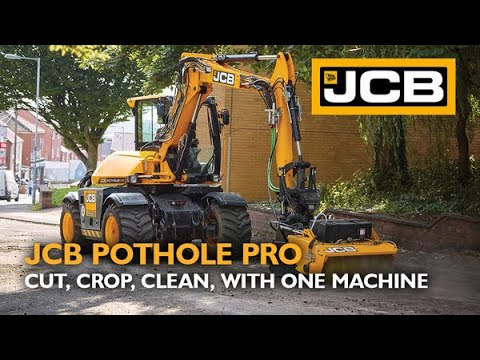 JCB introduces the Pothole Pro