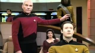 Worf gets DENIED again and again on Star Trek TNG.