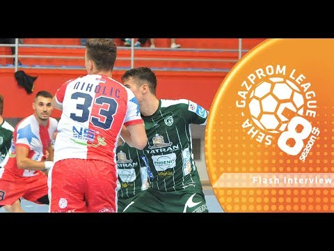 Flash interview: Vojvodina vs Meshkov Brest