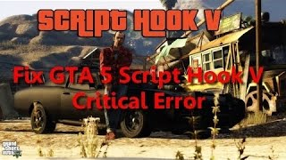 gta v menyoo-asi scripthook v error - Free video search site