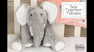 Part 1: How To Sew An Elephant Stuffed Animal (Pattern)
