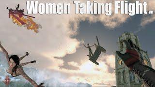 Women Taking Flight VR 4K