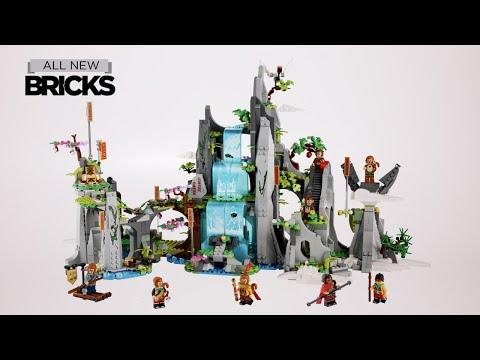 Vidéo LEGO Monkie Kid 80024 : La Montagne de fruits et de fleurs légendaire