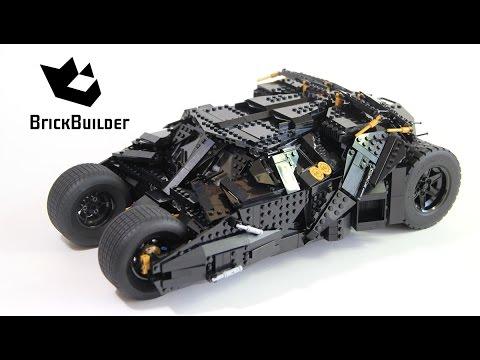 Конструктор Lp «Бэтмобиль - Тумблер» 07060 (Super Heroes 76023) / 1969 деталей