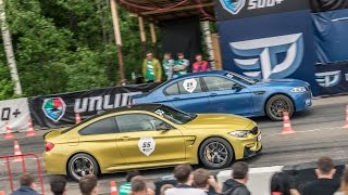 BMW M4 (tuned) vs BMW M5 (tuned)
